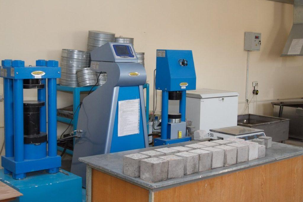 Лаборатория цементных растворов краситель для бетона в иркутске купить